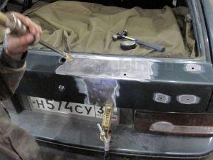Замена стекла двери багажника ваз 2114 своими руками 11